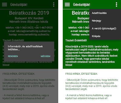 Beiratkozás - NIÁI preview screenshot