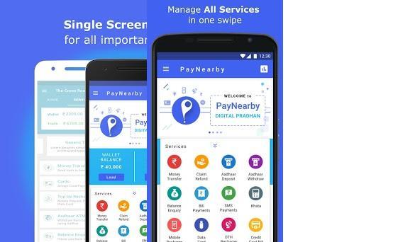 PayNearby Retailer - Aadhaar ATM, Money Transfer 3 1 7 apk
