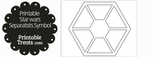 Printable Star Wars Sith Symbol — Printable Treats.com