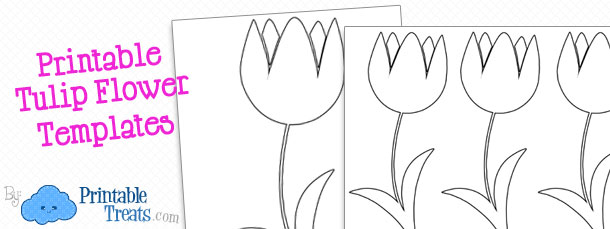 Printable Flower Template Printable