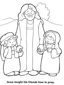 20 Jesus Coloring Pages for Kids — Printable Treats.com
