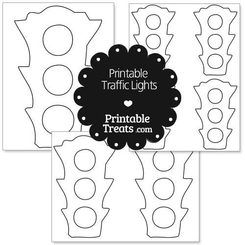 Printable Traffic Lights — Printable Treats.com