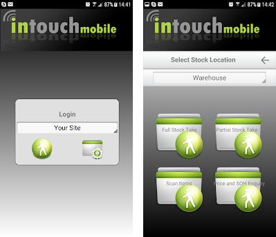 Intouch Stock Take preview screenshot