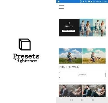 Presets for Lightroom - Mobile preview screenshot