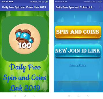 Daily Free Spin and Coins Link 2019 - Spin & Coin 1 0 apk
