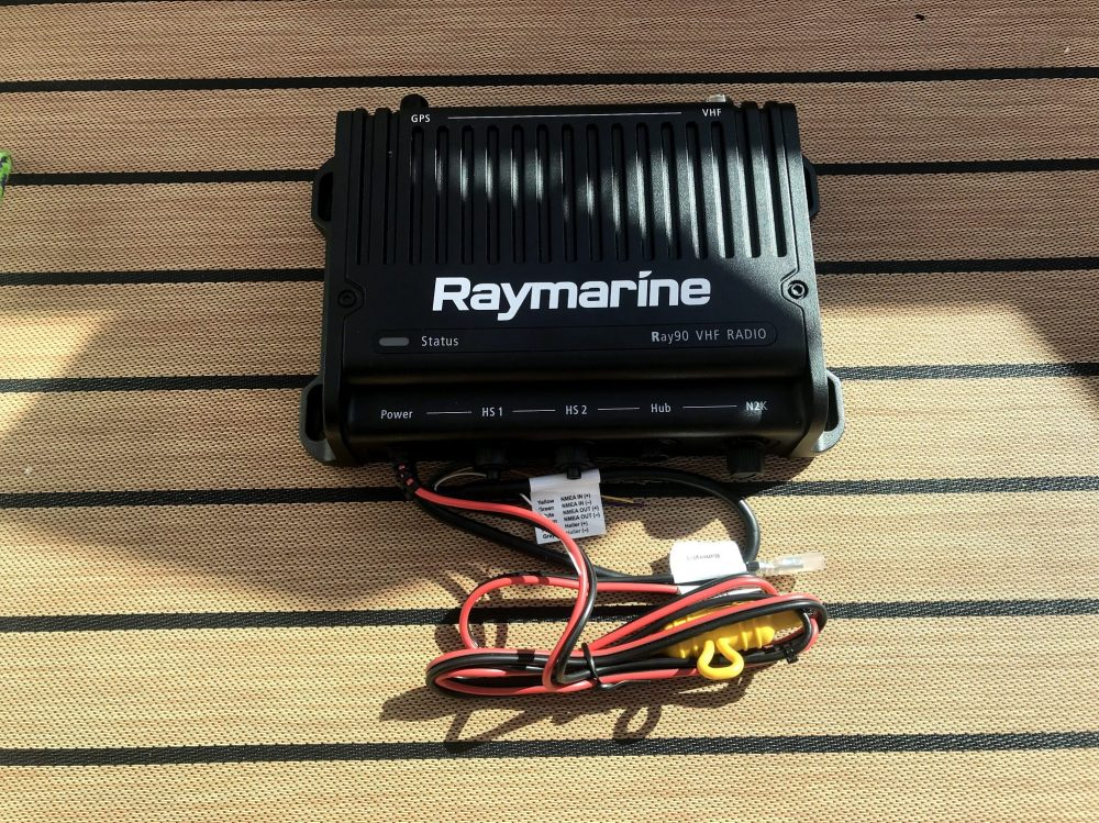 medium resolution of the ray90 base unit before being installed inside the helm of have another day
