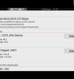 simrad nss7 evo2 updates via boat router  [ 1600 x 1200 Pixel ]