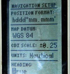 garmin 45 navigation setup changing to true [ 1114 x 1600 Pixel ]