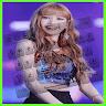download Lisa Blackpink Keyboard Theme apk