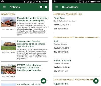 Sistema FAEP (Paraná) preview screenshot