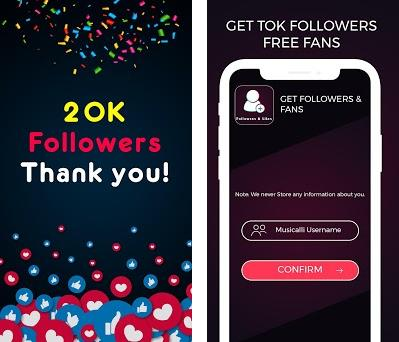 Followers & Likes for Tiktok 1 2 apk download for Android • sm