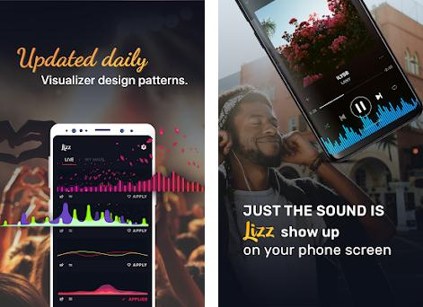 Lizz: Music visualizer - Audio visualizer 1 0 apk download