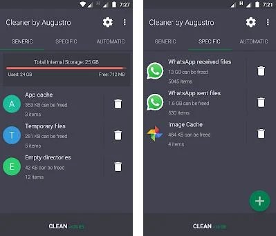 apk ram & game booster by augustro