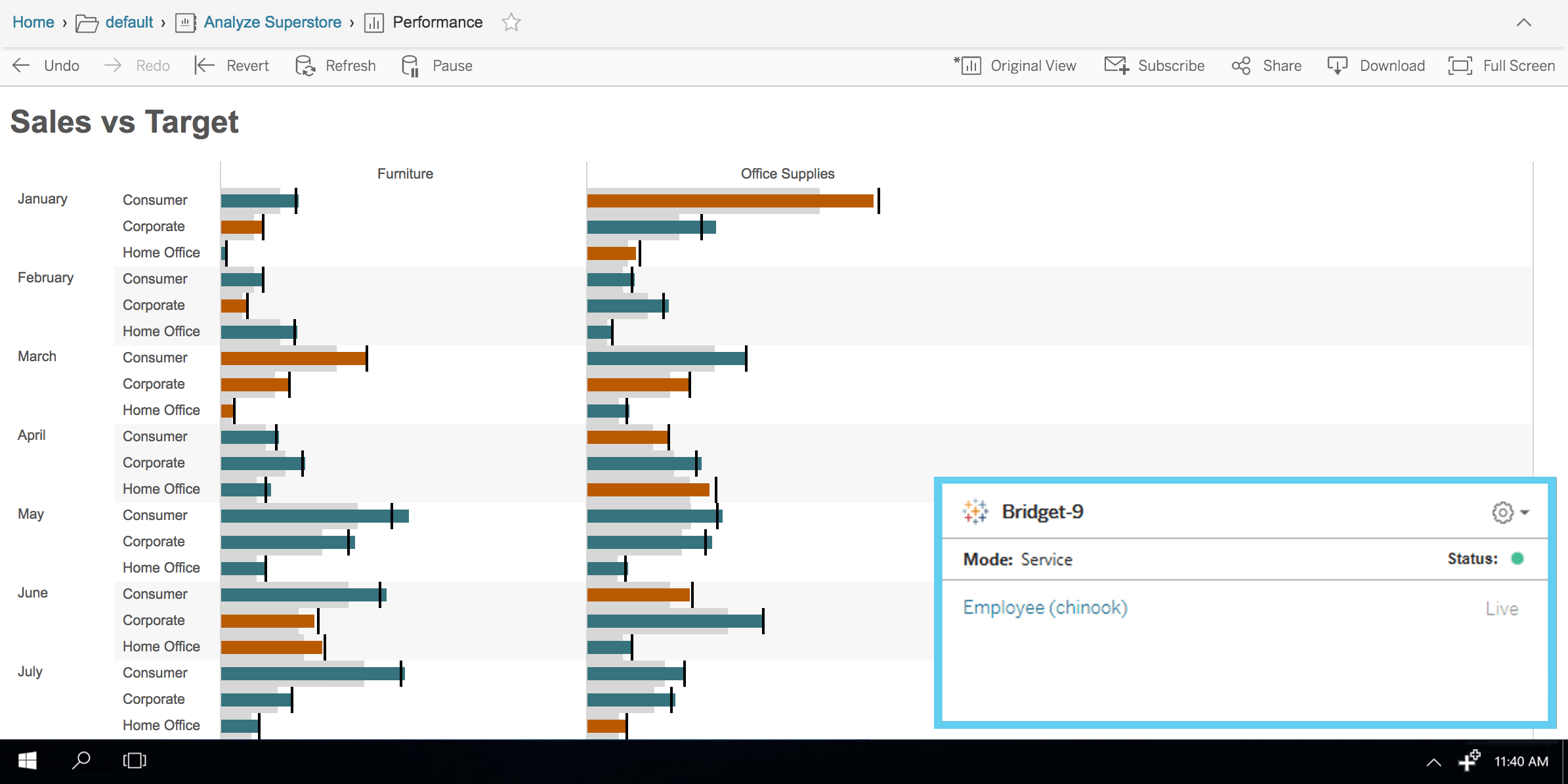 Introducing The Tableau Bridge Live Queries To On