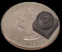 World's smallest color camera