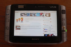 Sony Vaio VGN-UX50 handheld PC