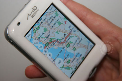 Mio H610: The Sexiest GPS Alive