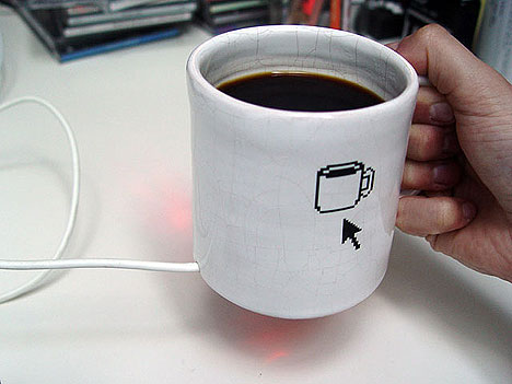 Drink a cuppa from your mouse