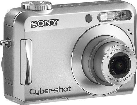 New Sony digital camera lineup