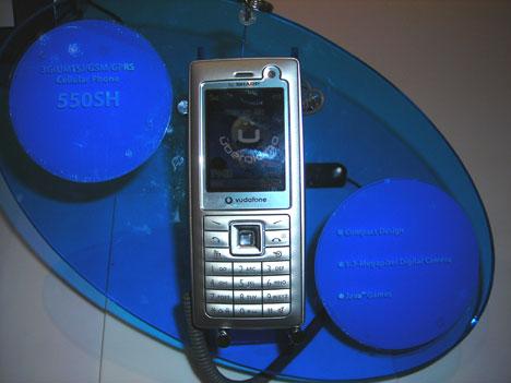 Sharp 550SH 3G phone
