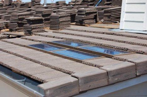 Solar roofing tiles from DRI Energy