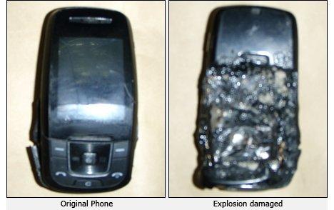 Exploding phone kills man