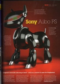 Sony Aibo to return as Aibo PS?
