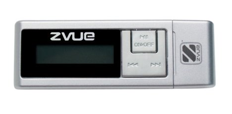 ZVUE MP3 player pre-loaded with songs