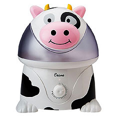 Black and white bovine dehumidifier