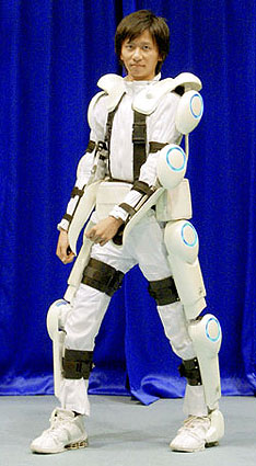 Exoskeleton up for rent