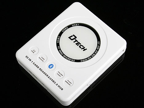 55-in-1 Card Reader with Bluetooth
