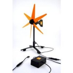 Orange harnesses wind to power charger