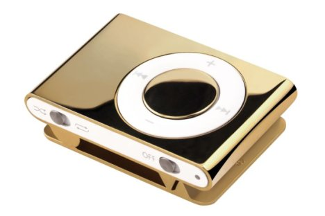 iPod Shuffle touched by Midas