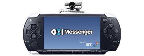 how to put go messenger on psp