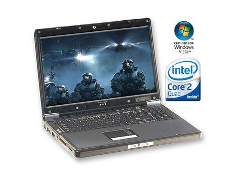 Core 2 Quad processor notebook arrives