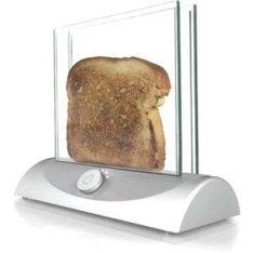 Transparent Toaster for perfectionists