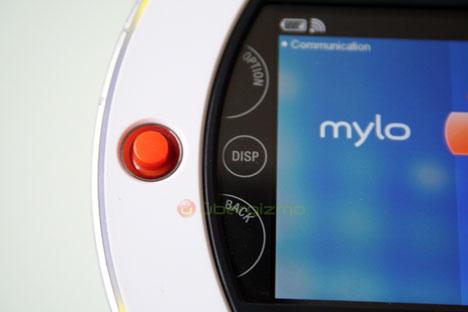 sony mylo screen left