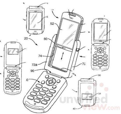 Sony Ericsson Detachable Display Concept