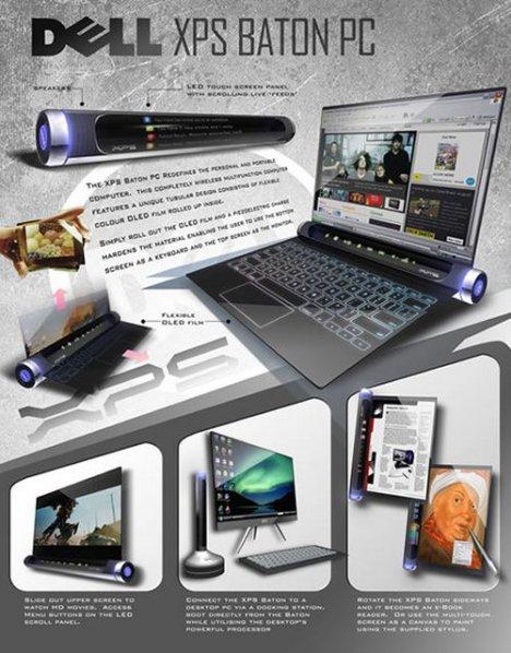 Dell XPS Baton Concept