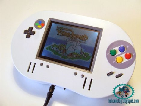 Portable SNES Too Huge For Pockets