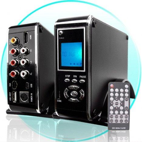 HDMI SATA Hard Drive HDD Media Player