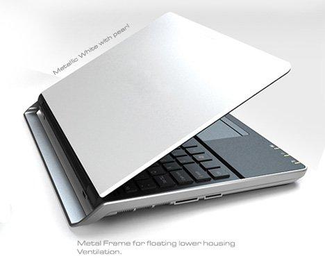 Float Away Laptop Concept