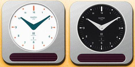 Quantys Solar Alarm Clock