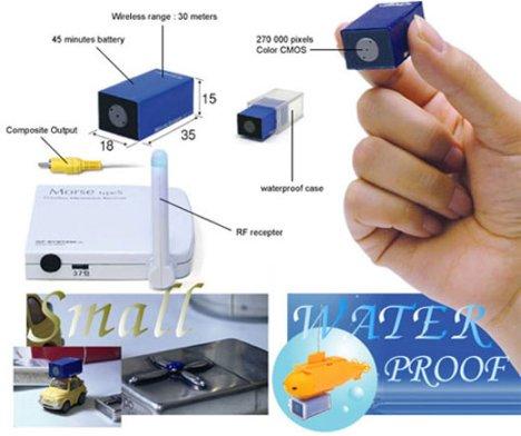 RC-12 Wireless Mini Cam