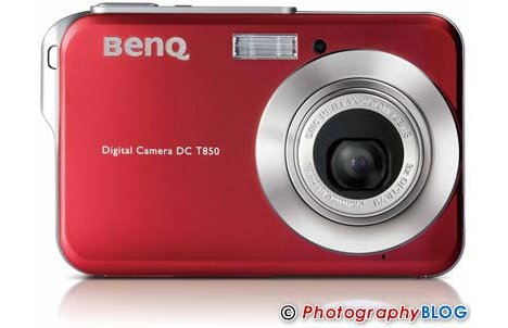BenQ T850 Digital Camera is Thin