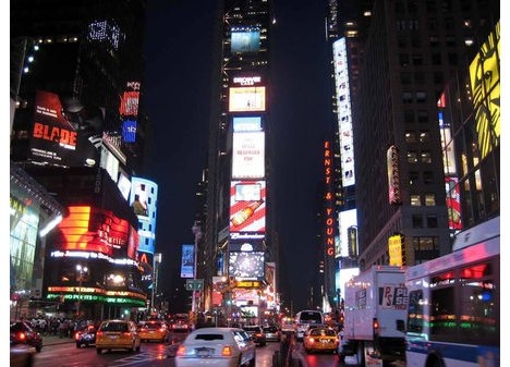 Renewable Energy-powered Billboard in Times Square