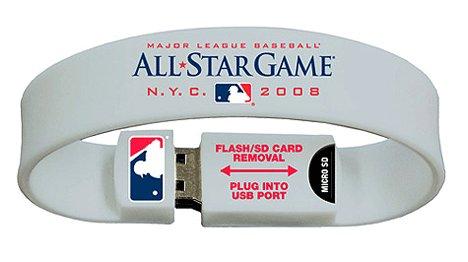 SportsLive USB Wristbands