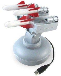 USB Missile Launcher Auto Aims
