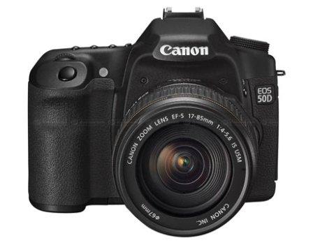 Canon EOS 50D Now Official