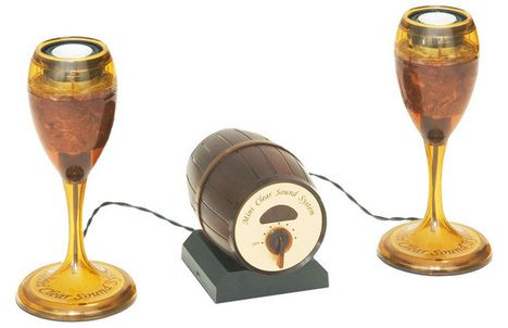 Wine Glass Speakers